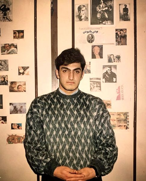 کوروش سلیمانی در جوانی + عکس