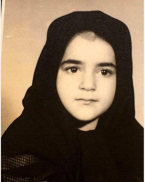 چهره بانمک نعیمه نظام دوست در کودکی + عکس