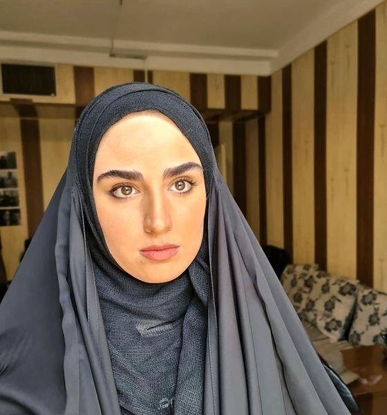 هانیه غلامی چادری شد + عکس