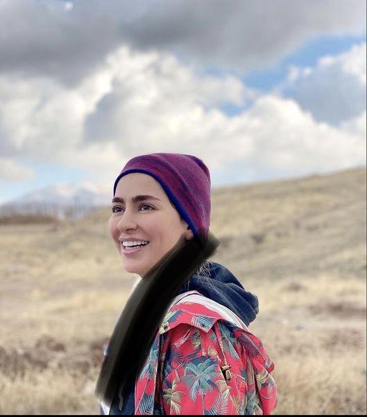 سمانه پاکدل در دل طبیعت + عکس