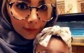 همسر و دختر عینکی مهران غفوریان+عکس