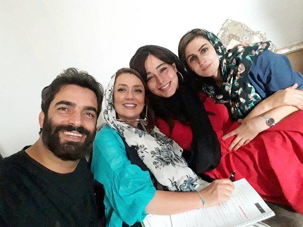 دیدار خانوادگی یکتا ناصر با سانیا سالاری+عکس