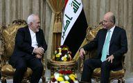 صالح: ایران و عراق جایگاهی مهم و موثر در منطقه دارند