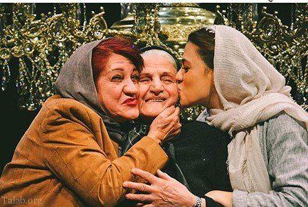 شیدا خلیق در کنار مادر بازیگرش+عکس