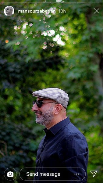 آخرین عکس تابستانی منصور ضابطیان