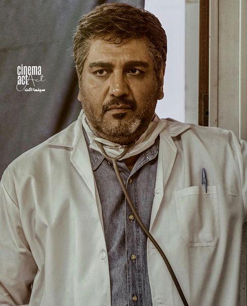 مهران مدیری اینبار در لباس پزشکی + عکس