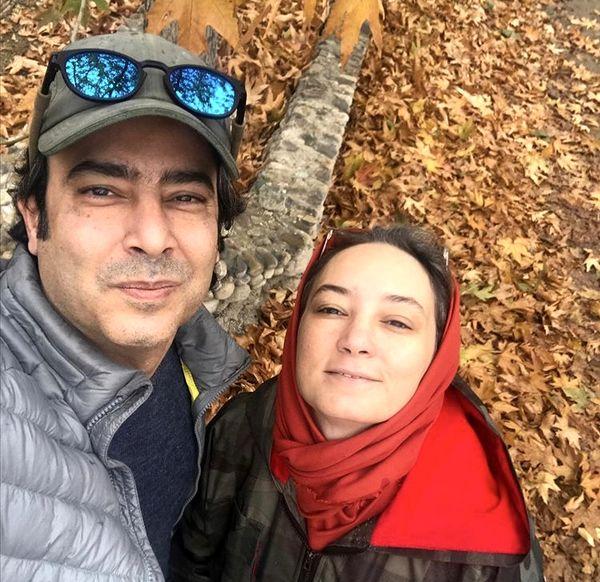 سلفی پاییزی زوج مشهور + عکس