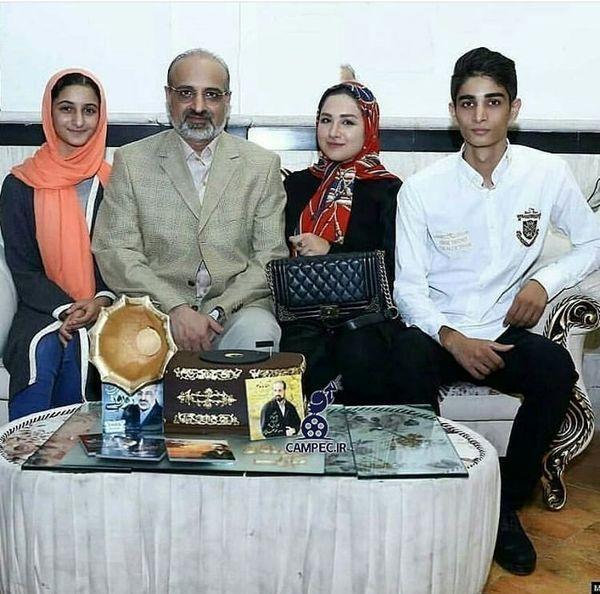 خانواده چهار نفره محد اصفهانی + عکس