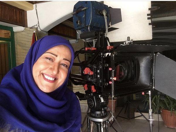 فاطمه هاشمی در پشت دوربین + عکس