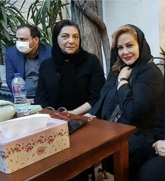 حضور بهاره رهنما در مراسم یادبود محسن قاضی مرادی + عکس