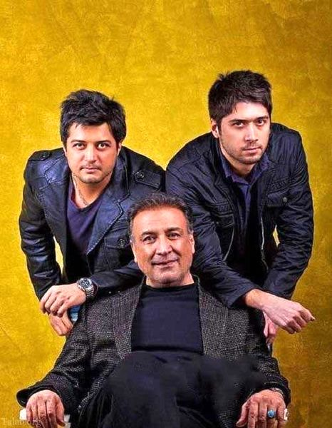 عبدالرضا اکبری و پسران خوشتیپش+عکس