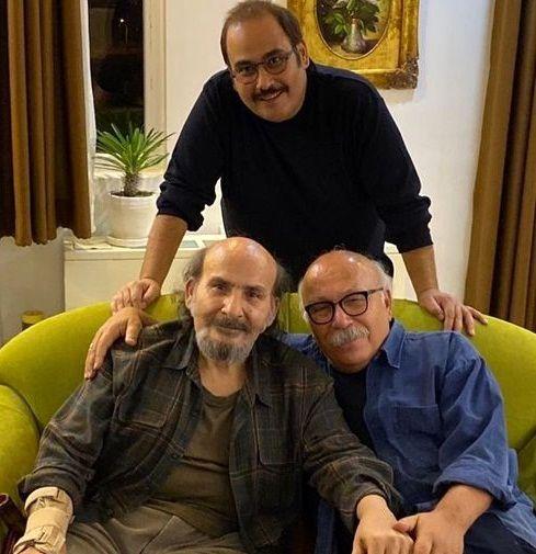 شباهت دیدنی پدر و عموی معروف رضا داودنژاد+عکس