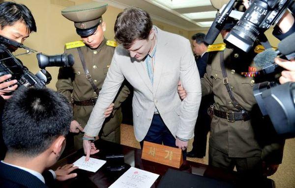 رد ادعای شکنجه دانشجوی آمریکای در کرهشمالی