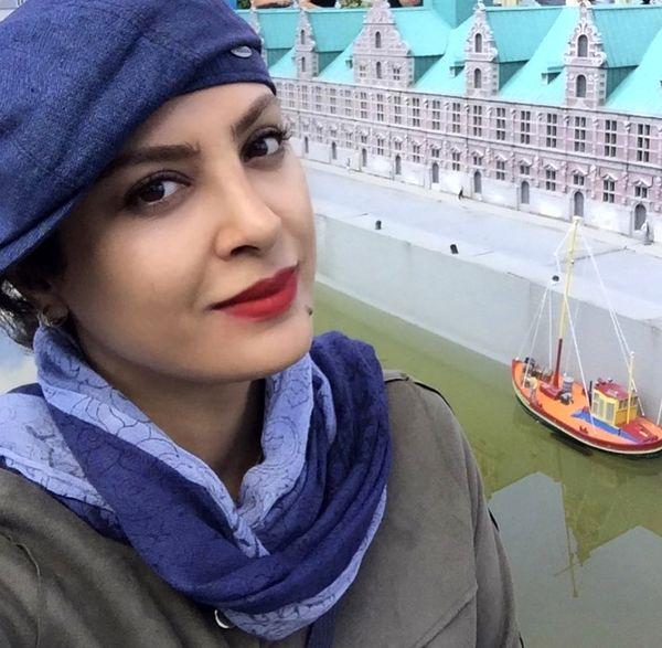 سفر حدیثه تهرانی به خارج از کشور + عکس