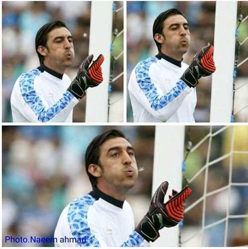 بدشانسی برای گلر ایرانی!+عکس