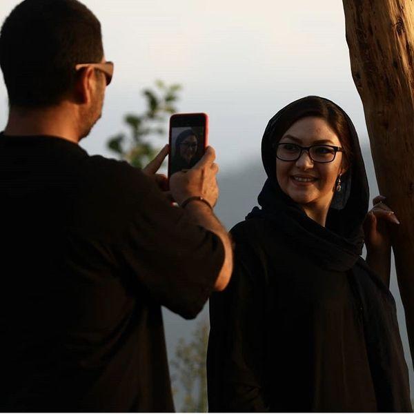 عاشقانه های امیرحسین صدیق برای همسرش + عکس