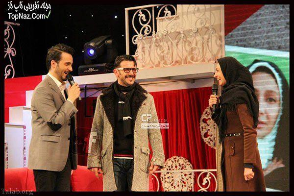 عکس خوشتیپ امین حیایی و همسر بازیگرش