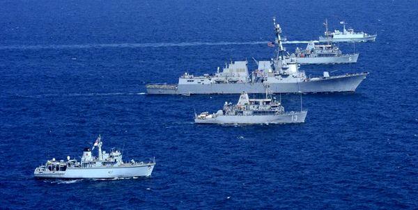 بیرون راندن کشتیهای فرانسه و یونان از فلات قاره ترکیه