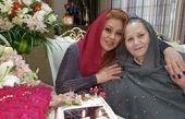نسرین مقانلو و مادرش + عکس