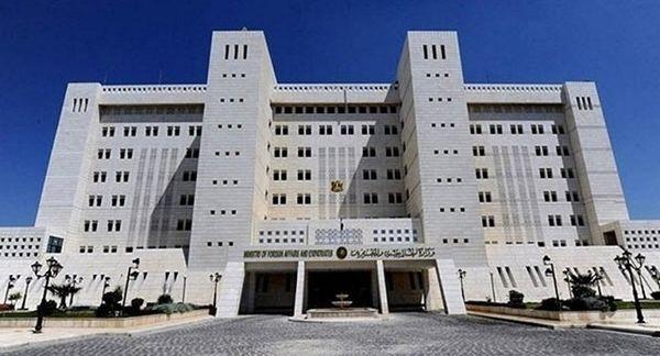 نامه سوریه برای سازمان ملل و شورای امنیت