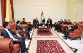 تاکید مسعود بارزانی بر همکاری و تقویت روابط با دولت عبدالمهدی