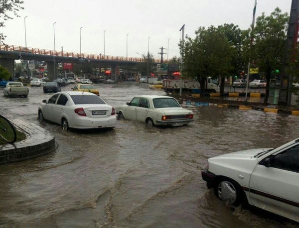 وقوع بارش مجدد دراستان کرمانشاه