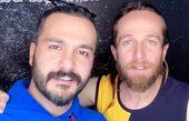 میلاد کیمرام و دوستش + عکس