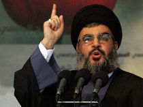 سخنرانی دبیر کل حزب الله به مناسبت سالگرد اشغال فلسطین و شهادت مصطفی بدرالدین