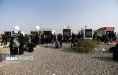 ادامه تردد آرام زائران اربعین حسینی