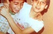 نوجوانی های ارژنگ امیرفضلی و دوستش  + عکس