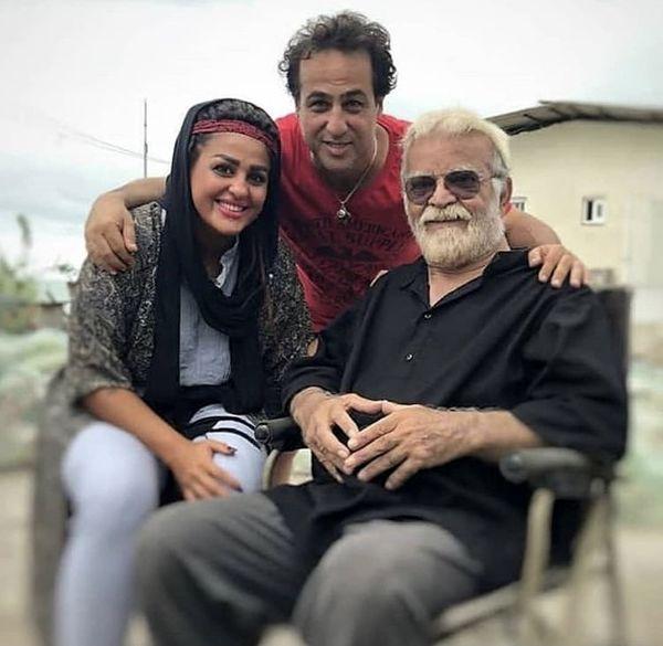 رامین راستاد و همسر جوانش در کنار بازیگر مشهور + عکس