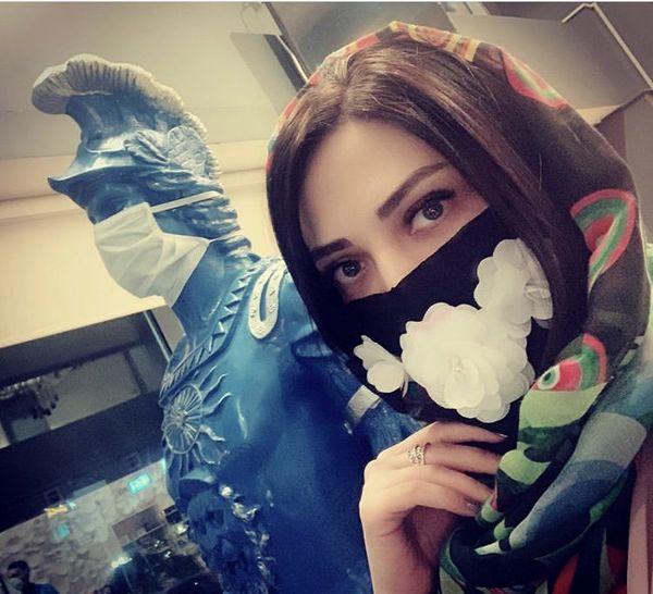 ماسک متفاوت لیلا اوتادی + عکس