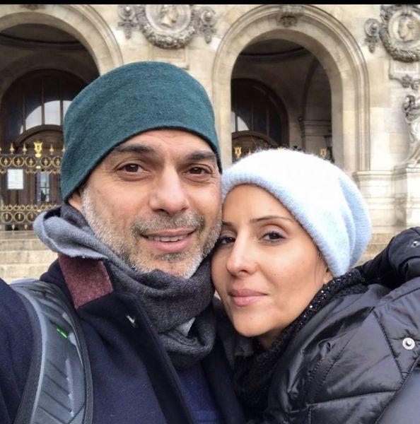 عاشقانه های پیمان معادی و همسرش + عکس