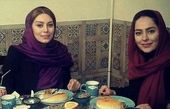 رستوران گردی سحر قریشی و سمانه پاکدل + عکس
