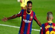 ستاره بارسلونا مصدوم شد