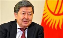 تأکید نخستوزیر قرقیزستان بر توسعه همکاریها با ایران