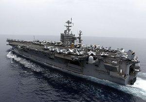 ناو هواپیمابر آمریکا وارد آبهای مدیترانه شد