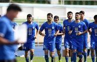 اردوی استقلال میزبان حسینی و قائدی+عکـس