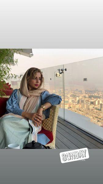 خانه شبنم قلی خانی بر فراز تهران + عکس