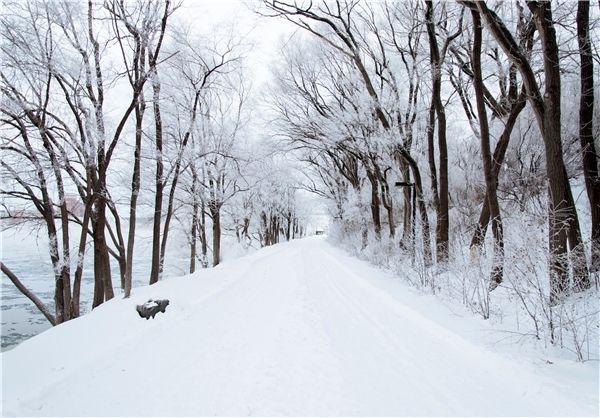 تصویری دیدنی از  ماسوله برفی