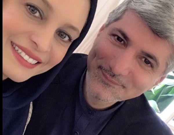 مریم کاویانی و همسرش + عکس