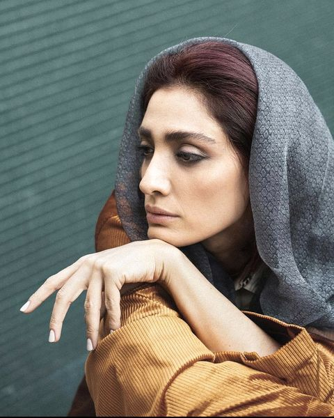 ظاهر جدید مینا ساداتی + عکس