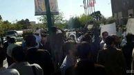تجمع جمعی از سپرده گذاران تعاونی ولیعصر (عج) مقابل مجلس