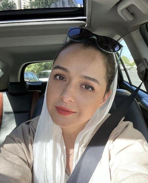 عکس جدید ترانه علیدوستی در ماشین شخصی اش