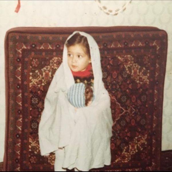 عکس خاله قزی الهام حمیدی