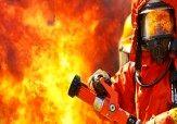 آتش سوزی گسترده ۴ واحد تجاری و مسکونی در جمهوری
