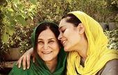 سانیا سالاری بازیگر گیسو و مادرش + عکس