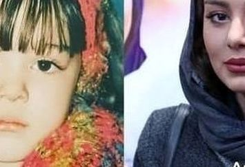 عکس کودکی خانم بازیگر جنجالی و معروف