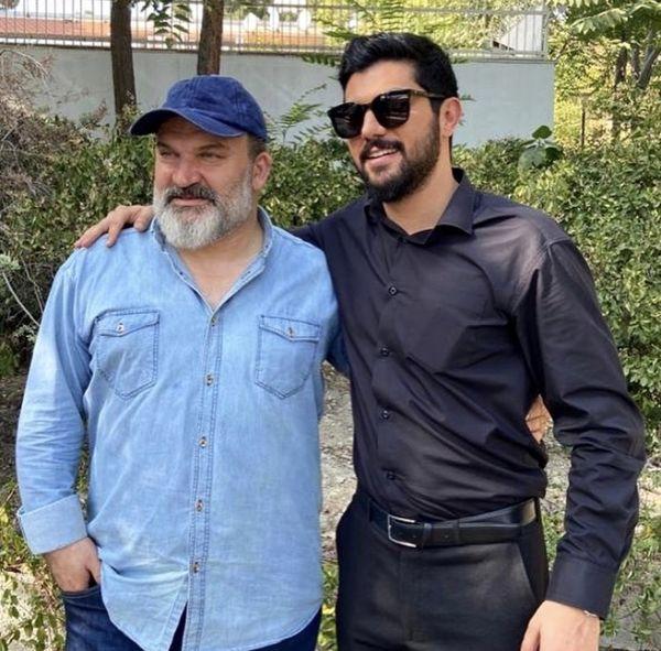 پدر و پسر معروف در آقازاده + عکس