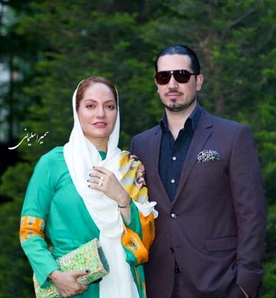 عکس زوج پر حاشیه معروف